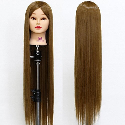 "Neverland Beauty 30"" Super Long Smooth 100% Synthetic Brown"