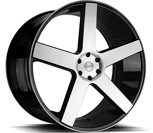 22-inch-azad-5198-black-machine-wheels-rims-only-lexani-forgiato-asanti-giovanna-audi-mercedez-infin