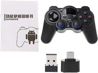controlador del Joystick Gamepad 2,4 G Wireless del juego para Android Tablet PC Smart TV Box De William Lee: LGGUKYXSB: Amazon.es: Iluminación
