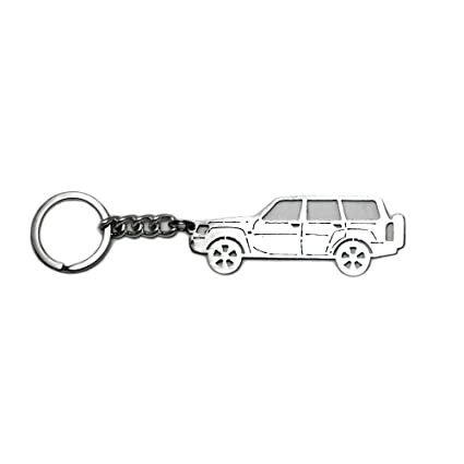 Amazon com: Keychain with Ring for Nissan Patrol Y61 Steel