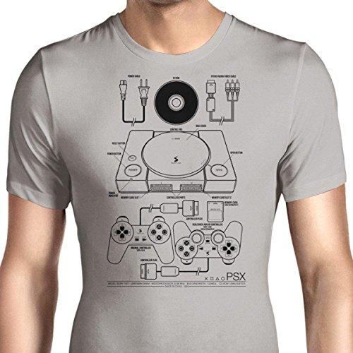 HONGRONG Men's PSX Unique Design Tshirt Fashion Tee X-Large ()