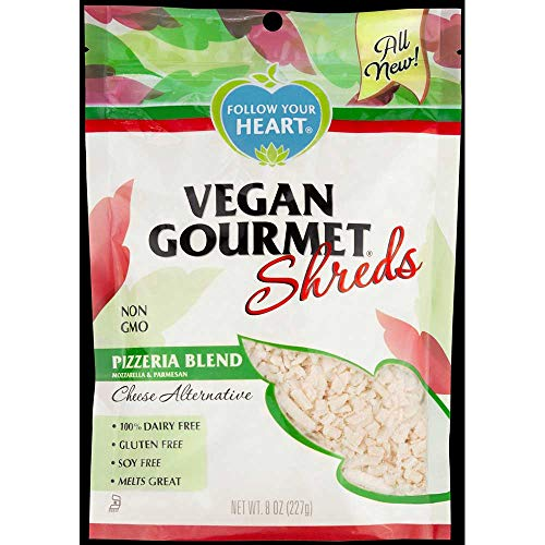 Follow Your Heart Vegan Pizzeria Blend Shreds, 8 Ounce -- 8 per case.