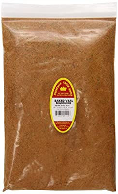 Marshalls Creek Spices Refill Pouch Baked Veal Seasoning, XL, 30 Ounce