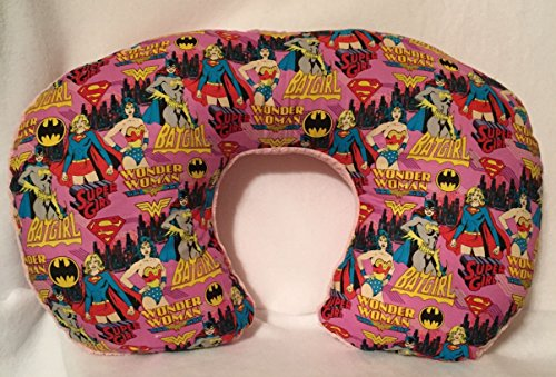 Superhero girls Nursing - Bottling Feeding Pillow / Unique Babyshower gifts by Gramma-in-the-Box