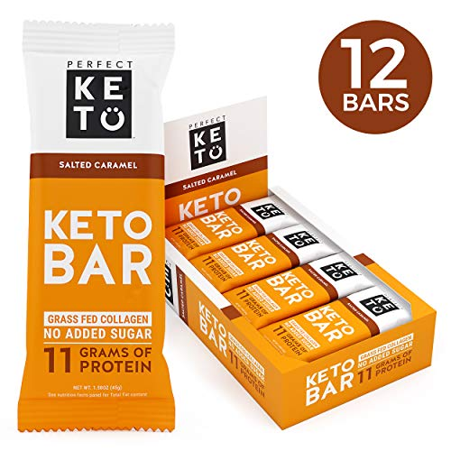 New! Perfect Keto Bar, Keto Snack (12