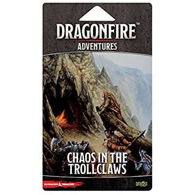 Dragonfire DBG: Chaos in The Trollclaws: Toys & Games
