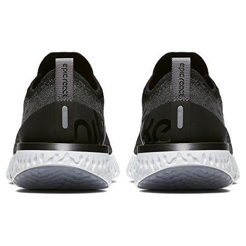 Compétition Grey Running pure WMNS Chaussures Flyknit Black Black dark 001 Nike Multicolore Epic Platinum Femme React de O0FWfn