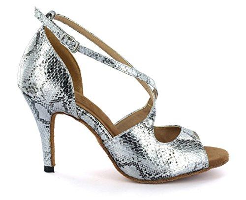 Salón De MGM Mujer de Silver Heel Sintético Joymod 5cm 8 4Z5qw5E
