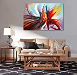 Abstract Canvas Wall Art Handmade Modern Oil Painting Contemporary Artwork for Wall Decoration Stretched Ready to Hang (Framed 3624 inch)