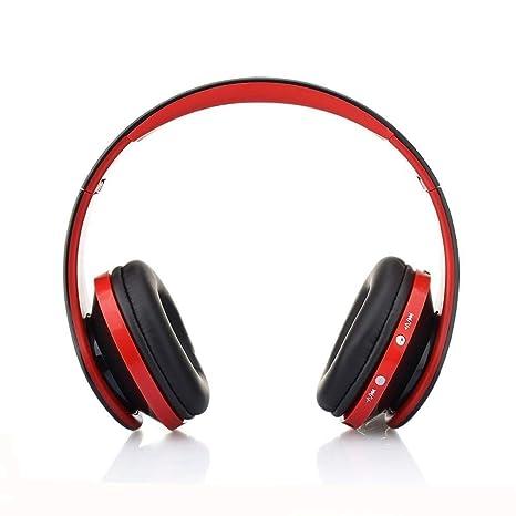 Auriculares Inalámbricos Bluetooth, Cascos Bluetooth Plegable con Micrófono, 20 Horas Reproducción de Música Orejeras