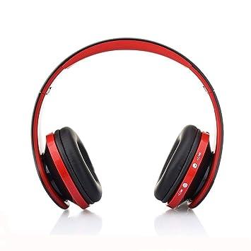 Auriculares Inalámbricos Bluetooth, Cascos Bluetooth Plegable con Micrófono, 20 Horas Reproducción de Música Orejeras de Memoria Suave para TV, PC, Tablet, ...