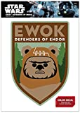 Star Wars FW1155 Ewok Defenders of Endor Vinyl Window Decal