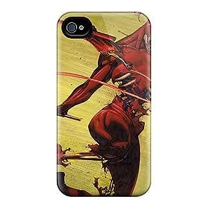 For Iphone 4/4s Premium Tpu Case Cover Daredevil I4 Protective Case