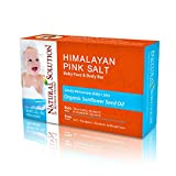 Cleansing Crystals In Himalayan Salt - Natural Baby Bath Soap Bar, Deep Cleansing Body Soap - 5.2 oz