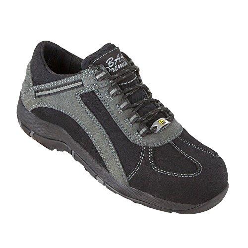 Baak 3216 - Señoras calzado de seguridad prima mujer sally s3 esd zapatos bgr 191 nº 42, negro,