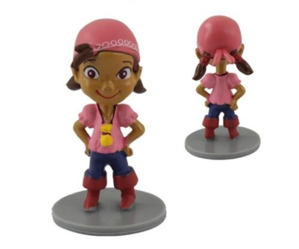 Jake Pirates Playset 7 Figure Cake Topper Toy Doll Set by  (Image #3)