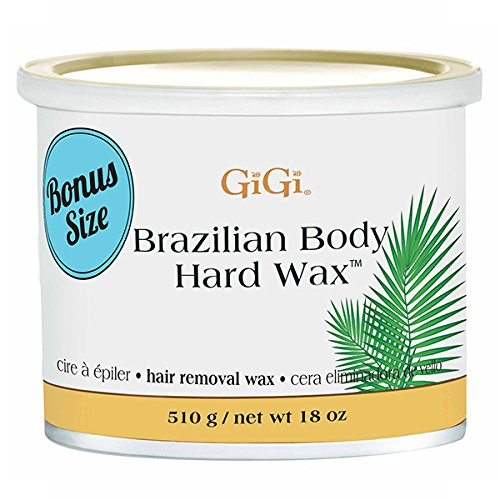 GiGi Brazilian Body Hard Wax 18 ounce (Best Hard Wax For Brazilian Wax)