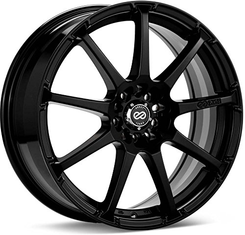 16x7 Enkei EDR9 (Matte Black) Wheels/Rims 4x100/114.3 (441-670-0138BK)
