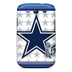 Ultra Slim Fit Hard Abrahamcc Case Cover Specially Made For Galaxy S3- Dallas Cowboys