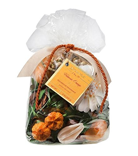 Aromatique Decorative Fragrance Potpourri Bag Valencia Orange 8 Ounces by Aromatique