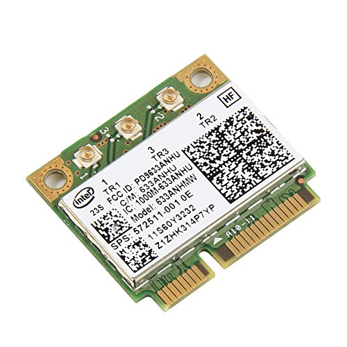 Ultimate-n 6300AGN Pci-e Wirless Wifi For LENOVO THINKPAD / HP Intel 6300AGN Card 802.11a/b/g/n 2.4 Ghz and 5.0 Ghz Spectra 572511-001 Fru:60Y3233 (Hp Ibm Laptop)
