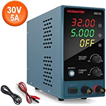 Adjustable DC Power Supply (0-30 V 0-5 A) HANMATEK HM305 Mini Variable Switching Digital Bench Power Supply