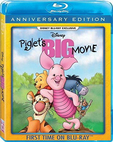 PIGLET'S BIG MOVIE BLU RAY DISNEY EXCLUSIVE