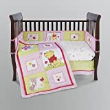 16-pieces Disney Precious Pooh Custom Crib Bedding Set Area Rug + Extras