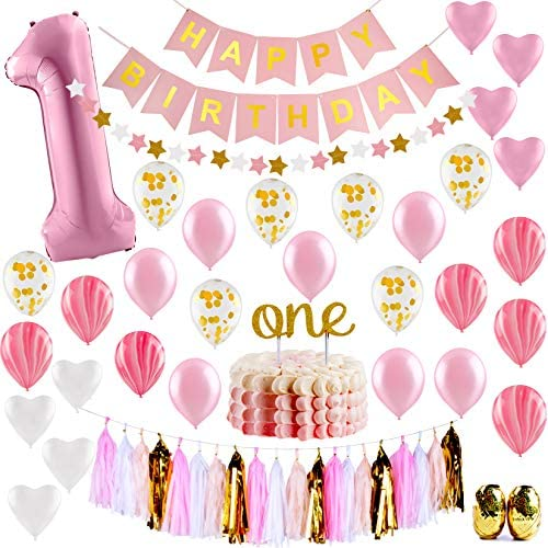 PartyHooman Birthday Decorations Confetti Balloons product image