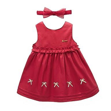 773f85a36722 Baby Girl Sleeveless Dress Toddler Dresses Infant Baby Dresses Spring Dresses  3 6 9 12 18