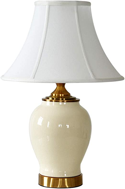 Lámpara de mesa Lámpara de mesa de cerámica sala de estar estilo ...
