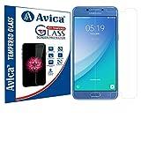 AVICA 0.3mm HD Premium Flexible Tempered Glass Screen Protector For Samsung Galaxy C5 Pro [2017]