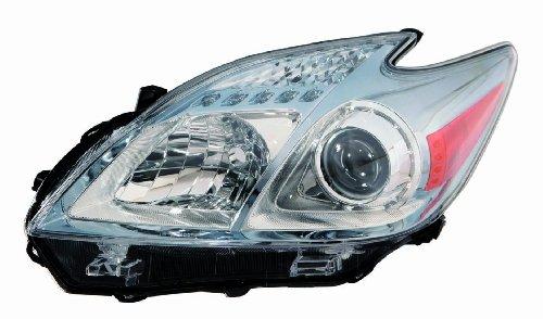 Depo 312-11B7L-UF7 Toyota Prius Driver Side Headlight Unit (Headlight Housing Fits Driver)