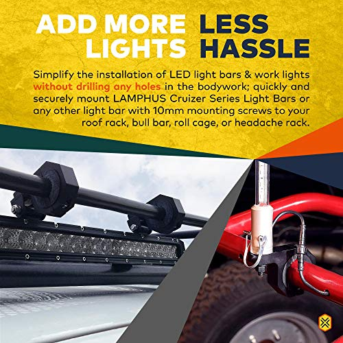 Buy truck fog lights with roll cage