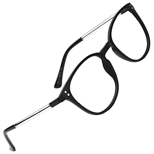 d7054a50239e Image Unavailable. Image not available for. Color  slocyclub Unisex Super  Light Keyhole Full Rim Classic Eyeglasses Frame ...