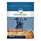 Barkworthies Dog Jerky Rabbit Apple KALE 12oz.