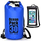 Waterproof Dry Bag - Roll Top Dry Compression Sack Keeps Gear Dry for Kayaking, Beach, Rafting, Boating, Hiking,...