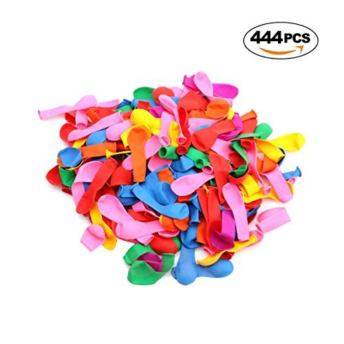 Loveprint 444pcs Water Balloons Water Bombs Summer Party Balloons Summer Kids Toy Perfect for Weeding Party Birthday Party Swimming Pool Party Children Toys by Loveprint