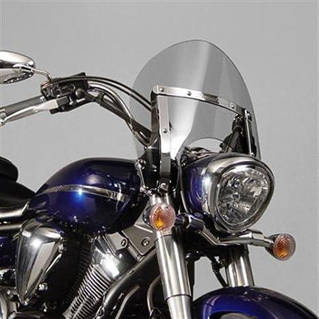 Ciclo Nacional Switchblade parabrisas corto tinte para Yamaha ...