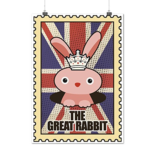 animal-great-rabbit-gb-uk-cute-matte-glossy-poster-a3-12x17-inches-wellcoda