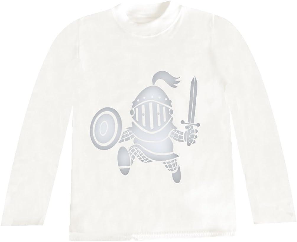 Knight Inda-Bayi Baby-Toddler-Kids Cotton Long Sleeve T Shirt