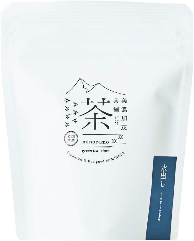 美濃加茂茶舗 水出し(ティーバッグ)10個入り 【国産】白川茶 高級茶 日本茶 ギフト プレゼント 水出し煎茶