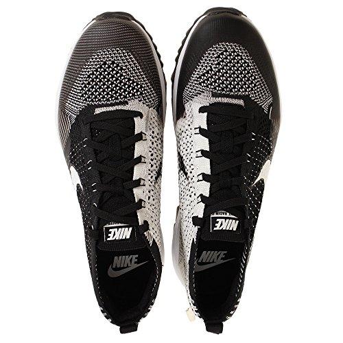 Homme Noir Black 001 Flyknit Basses White G Racer Sneakers NIKE SqBXX