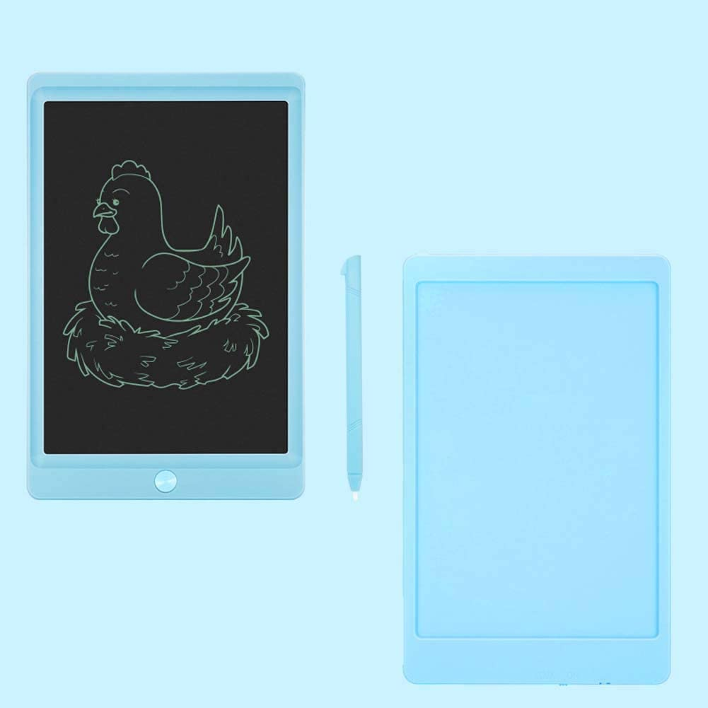 BIGLOVE LCD 8.5 Inch Writing Tablet ABS Border+LCD Screen with Memory Lock Mini Board Handwriting Pad for Home School and Office,253.5 /×164 /× 8mm