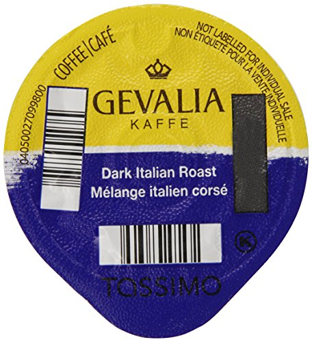 Gevalia Dark Italian Roast, 12-Count T-Discs for Tassimo Coffeemakers(Pack of 3)