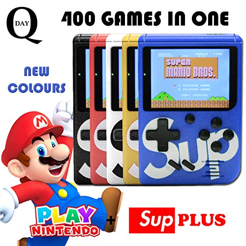 Amazon.com: Q-Day SUP PLUS Video Game Console. 400 Classic ...