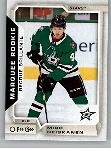 (2018-19 O-Pee-Chee Update Hockey #628 Miro Heiskanen RC Rookie Card Dallas Stars NHL Trading Cards from Upper Deck Serie Two Pack)