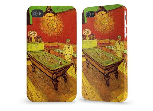 """Hülle / Case / Cover für iPhone 4 und 4s - """"Night Café"""" by Van Gogh"""