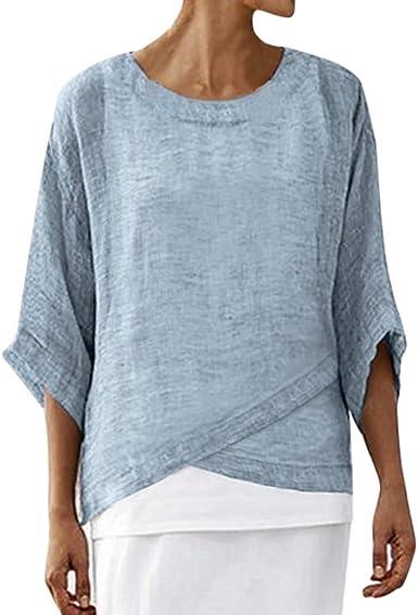 Tallas Grandes de Mujer Verano Camisetas, Camisetas Mujer ...
