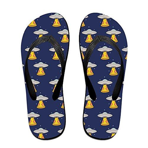 2bec986aef872b 70%OFF Kawaii Cute Pizza UFO Unisex Fashion Beach Sandals Classical Flip  Flops Thong Sandals